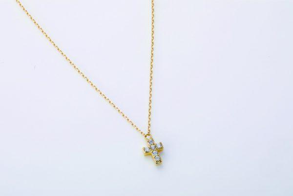 cross Dia necklace