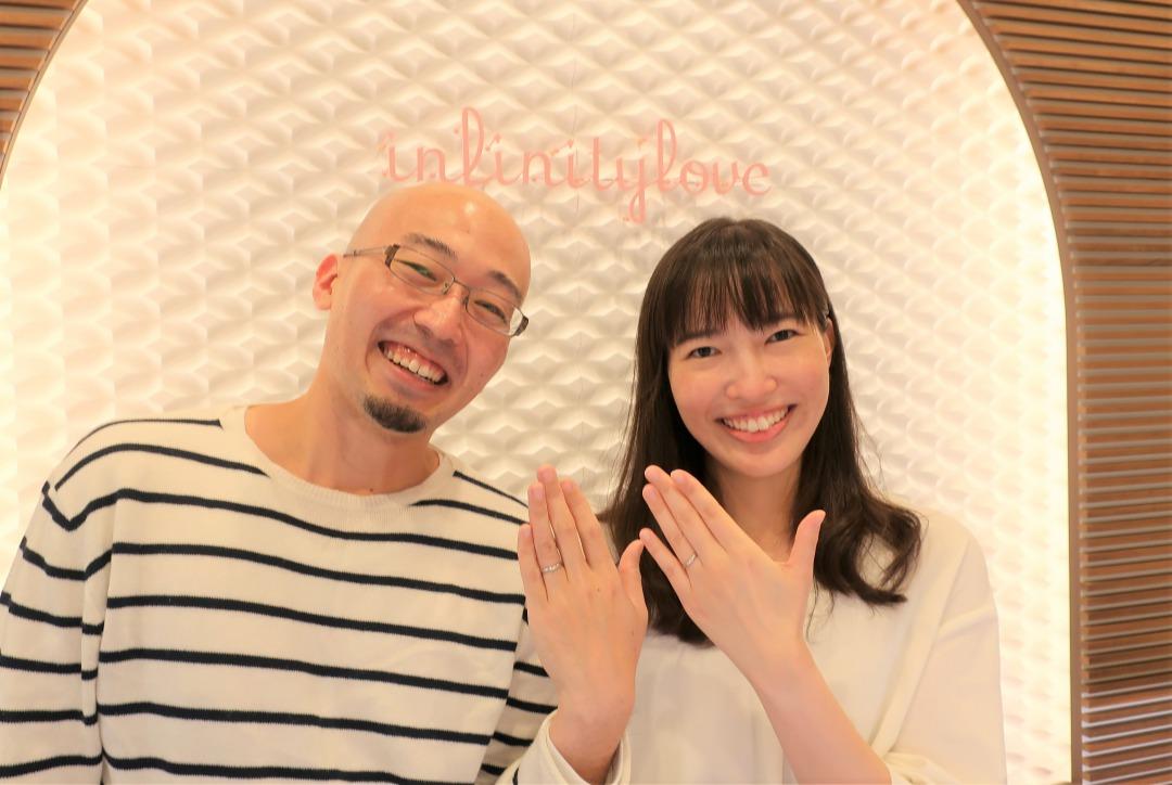 Jasmine&Vegaの結婚指輪 まさに!理想の指輪を一緒に考えて作っていただきました♡