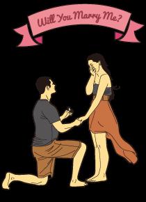 プロポーズリングで、サプライズプロポーズをする