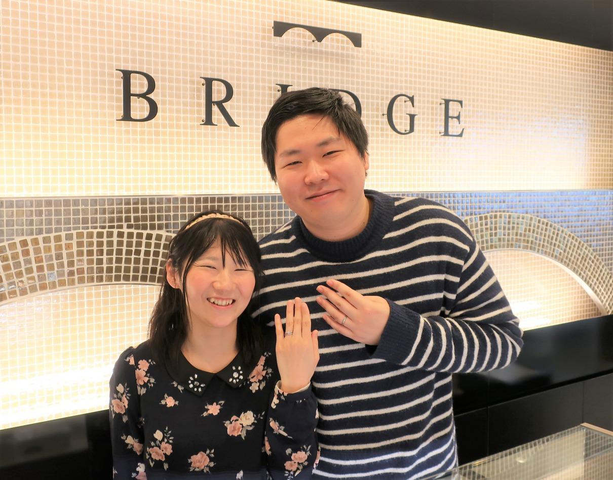 Spring Primrosenoの婚約指輪&Spring Breezeの結婚指輪 奇跡のダイヤモンドです♡