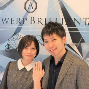 Siriusの婚約指輪 どのブランドよりもプリンセスカットの輝きが一番だった