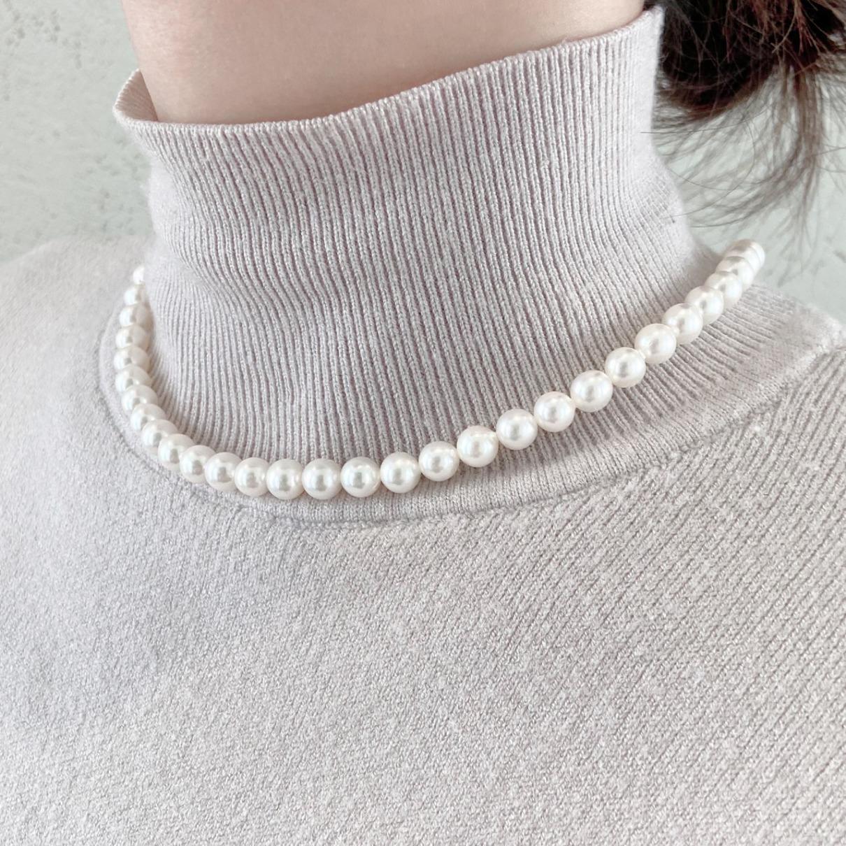 真珠の品質はテリ・光沢のキューティクルが一番大事