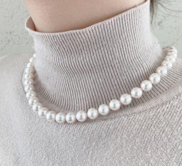 パールのネックレスは現代の花嫁道具です