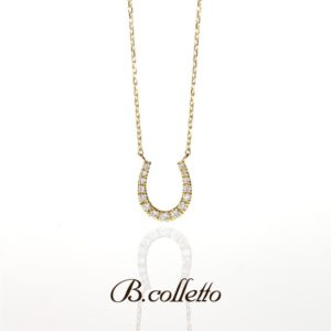 B.colletto Horse shoe necklace