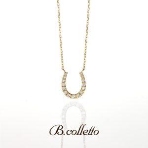 B.colletto Horse shoe necklace