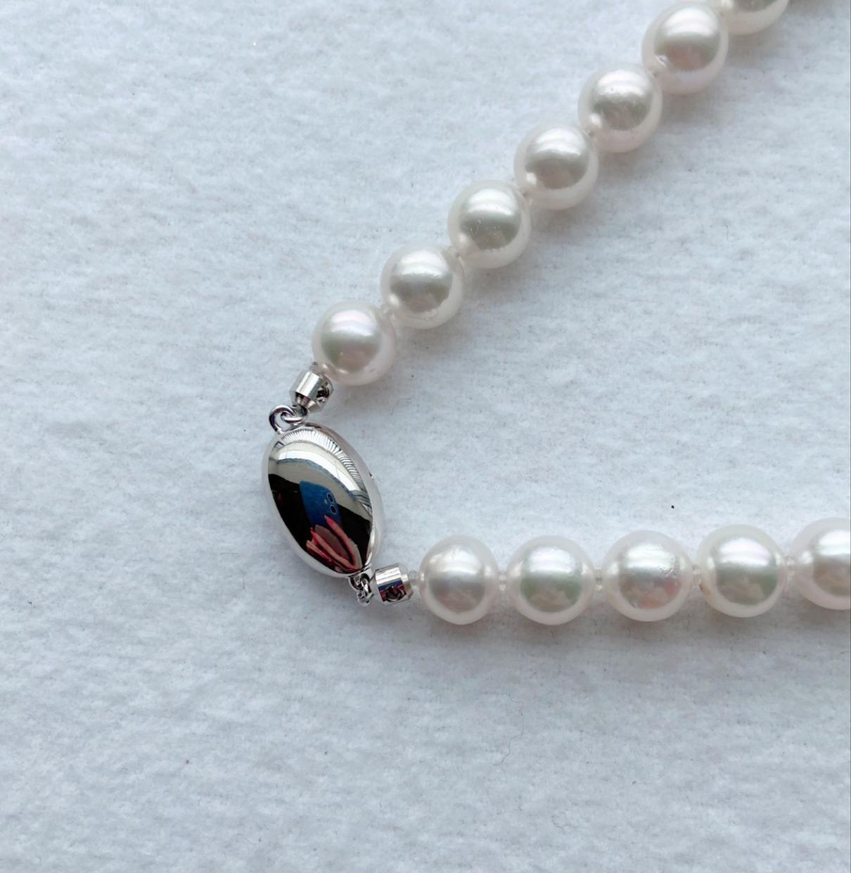 花珠あこや真珠ネックレス