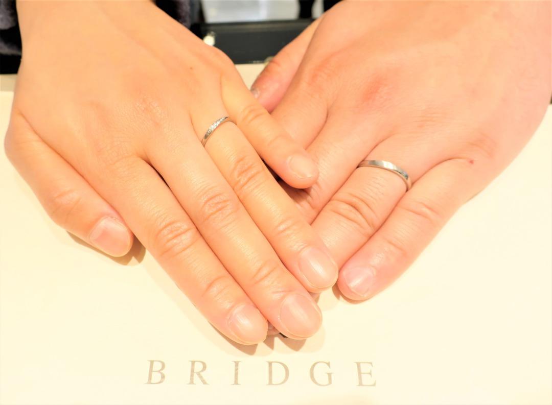 結婚指輪選びの決め手は、先輩カップルである兄から紹介でした!