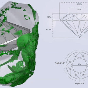 デビアスのダイヤモンドスキャン技術は世界最高