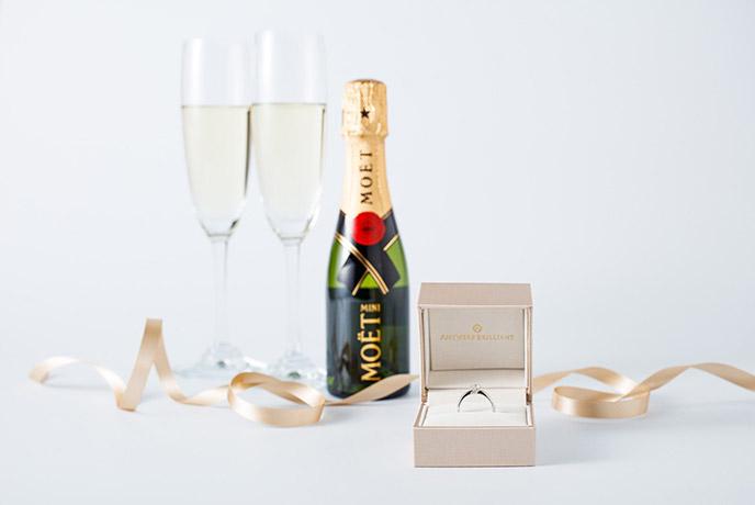 シャンパンプレゼント