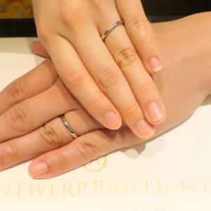 デザインアレンジで二人だけの結婚指輪を作ることが出来ました