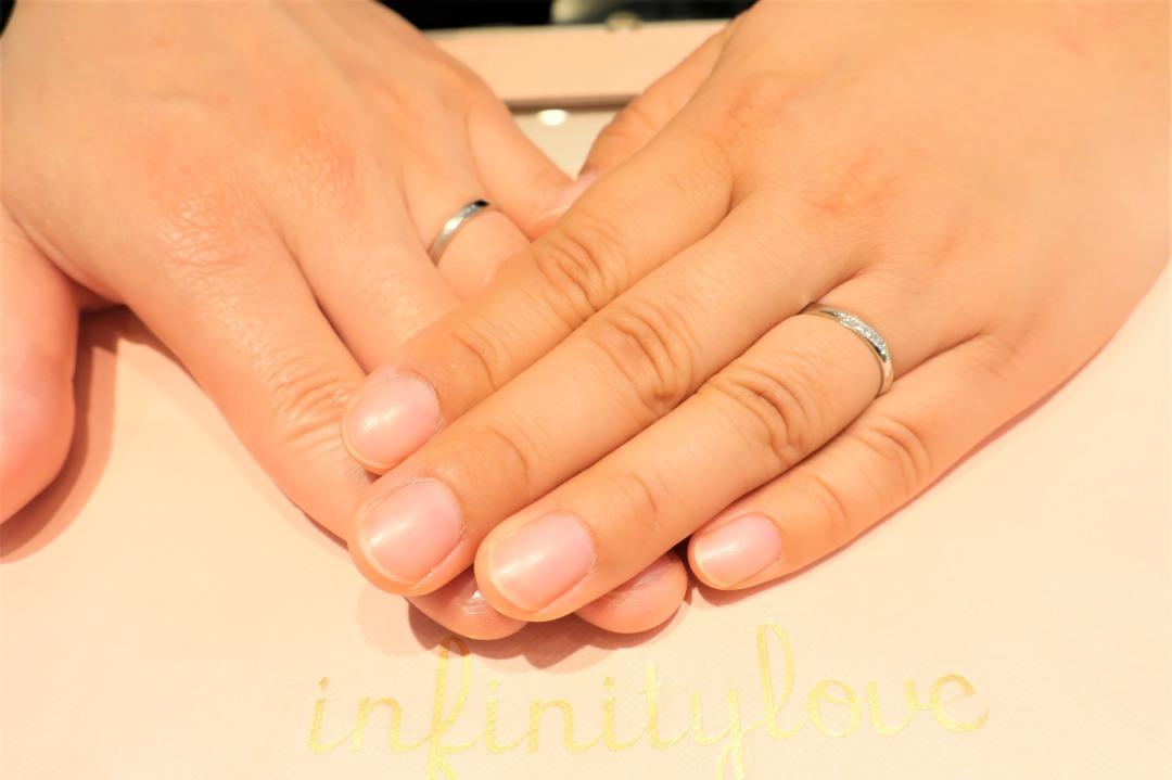 私たちの雰囲気を見て、似合うデザインの指輪提案が嬉しかった