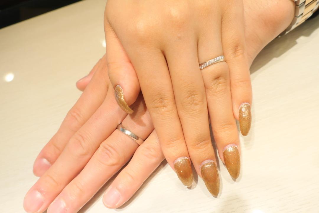 キラキラのダイヤモンドの輝きがお気に入りです♪